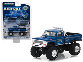 "1974 Ford F-250 Monster Truck Bigfoot #1 Blue \""The Original Monster Tru... - $14.50"