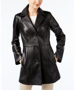 ANNE KLEIN Leather Topper Jacket  MSRP$480.00 - $149.00