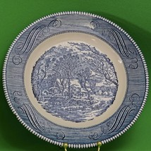 """Vintage Royal 10"""" Decorative Plate, The Old Grist Mill By Currier & Ives... - $2.95"""
