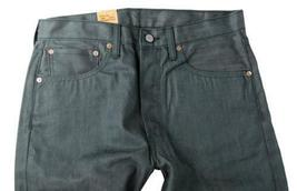NEW LEVI'S 501 MEN'S ORIGINAL FIT STRAIGHT LEG JEANS BUTTON FLY GREEN 501-1927 image 4