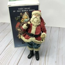Kurt S Adler Fabriche Old World Santa Figurine Vintage Christmas Decor  - $25.76