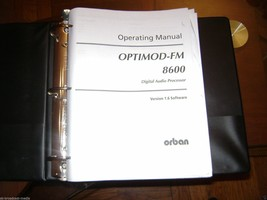 Orban Optimod 8600 FM Operating Manual - $23.38