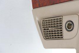 02-05 Dodge Ram 1500 2500 3500 Pick-up Dash A/C Radio Control Bezel Wood Trim image 5