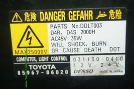 Lexus Toyota Headlight Xenon HID BALLAST 85967-51040 39000-78259 image 2
