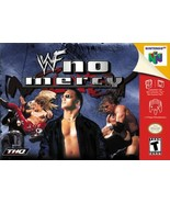 WWF No Mercy N64 Great Condition Fast Shipping - $69.93