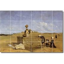 Jean Corot Landscapes Painting Tile Murals BZ02034. Kitchen Backsplash Bathroom  - $240.00+
