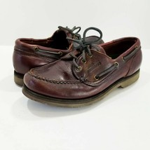 Sebago Docksides Oil Tanned Leather Casual Boat Deck Oxfords Shoes 46526... - $22.99