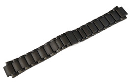 Genuine Black Stainless Steel Bracelet Watch Band AT2245-57E AU1065-58E ... - $81.02