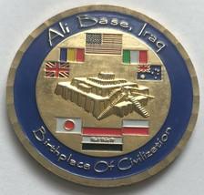 Usaf Air Force Imam Ali Air Base Nasiriyah Iraq Tallil Us Army Camp Adder Coin - $74.24