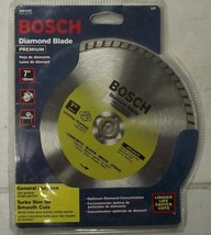 "Bosch 7"" DB742C  Premium Diamond Wet Saw Blade Brick Concrete 5/8"" Arbor - $12.87"