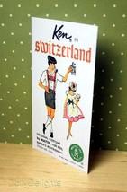 KEN In Switzerland Brochure Pamphlet Made For Vintage KEN #0776 - $7.99