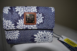 NWT Dooney & Bourke Small Flap Canvas Coated Le... - $67.32