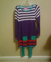 2 pc DESIGN HISTORY GIRL'S SWEATER DRESS +leggi... - $14.99
