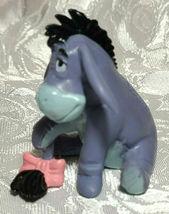 "Disney Eeyore Winnie The Pooh Friend PVC Cake Topper Toy Figure Donkey 2"" Tall image 3"