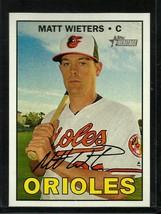 2016 Topps Heritage High Number #546 Matt Wieters NM-MT Orioles - $1.50