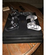 Sony PlayStation 4 PS4 Pro 1TB 4K Console - Black with 2 Controllers - $299.92