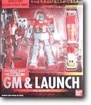Gundam MSIA RGM-79 GM & Launch by Bandai - $113.43