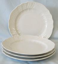 Hutschenreuther Form Dresden White Bread or Dessert Plate set of 4 - $32.56