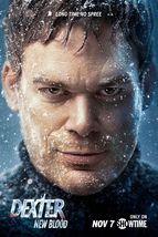 "Dexter New Blood Poster TV Series Art Print Size 11x17""  24x36"" 27x40"" 3... - $10.90+"