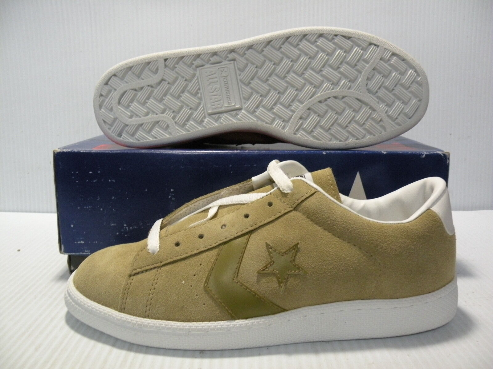 Primary image for CONVERSE PRO ALL STAR VINTAGE MEN SZ 7 / WOMEN SZ 8.5 SHOES MUSTARD 18276 NEW
