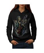 Guitar Metal Badass Skull Sweatshirt Hoody Skull Show Women Hoodie - $21.99+