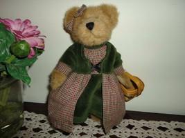Boyds Bears RED RIDING HOOD Bear w Basket Handmade Retired Archive Series - $67.50