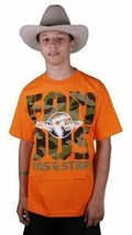 Famous Stars And Straps Wings Screen Printed Tee White Orange Camo T-Shirt