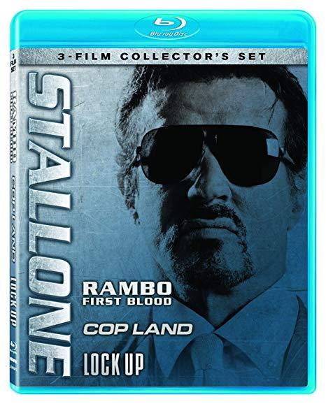 Stallone Collector's Set: (Rambo: First Blood / Cop Land / Lock Up) (Blu-ray)