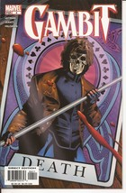 Marvel Gambit #4 House Of Cards Remy LeBeau Wolverine Action Adventure - $1.95