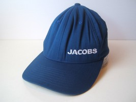 Jacobs Hat Blue S-M Stretch Fit Baseball Cap - $15.21