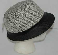 Howard's Brand Arianna Collection 89025 Women's Black And Cream Color Cloche Hat image 2