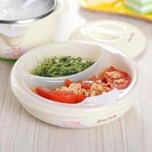 Warming Babies Food Dish Bowl BPA Free Water Insulation Plate Silicone M... - $16.71