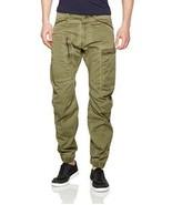 G Star Powel 3D Tapered Cuffed Pants, Dk Shamrock/Forest Night Size W31/... - $99.75