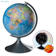 Interactive Globe for Kids, 2 in 1, Day View World Globe and Night View ... - $85.66