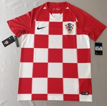 Croatia Home Jersey 2018 Nike Fans Version %100 Original - $49.00