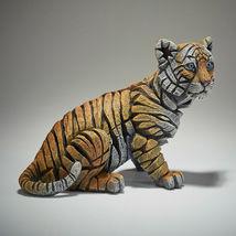 "9.5"" L Tiger Cub Figurine Sculpture by Edge Sculpture - Stunning Piece image 3"