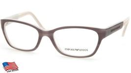 New Emporio Armani Ea 3004 5048 Grey Eyeglasses Frame 50-16-135 B33mm - $64.34