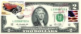 "MONEY US $2 DOLLARS 2013 STAMP CANCEL MORRIS ""8"" 1938 LUCKY MONEY GEM UNC - $38.25"