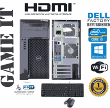 Dell Precision T1700 Computer i5 4570 3.20ghz 8gb 240gb SSD Windows 10 6... - $322.34