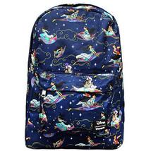 Disney Aladdin Backpack Loungefly Disney Backpack Full Print 2018 NEW RE... - $64.10 CAD