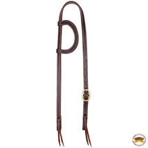 Hilason Western Horse One Ear Headstall American Leather Dark Brown U-2-HS - $29.65