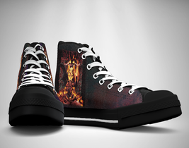 Danzig  Heavy Metal Band Canvas Sneakers Shoes - $49.99