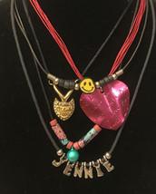 vintage necklaces lot of 5 - $6.93