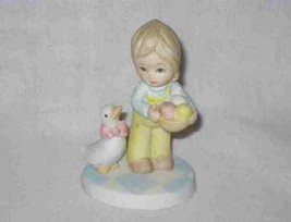 "So Sweet 3 1/4"" LEFTON Little Treasures Porcelain Bisque Figurine - $18.59"