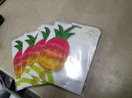 "LOT OF 4 Iridescent Pineapple 31"" Foil SuperShape Balloon Summer Fruit H... - $23.70"