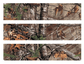 Real Tree RealTree camo edible cake strips cake topper decorations - $7.80