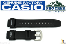 CASIO Pathfinder PRO TREK PRG-260 Black Rubber Watch BAND PRG-550 PRW-3500 - $59.39 CAD