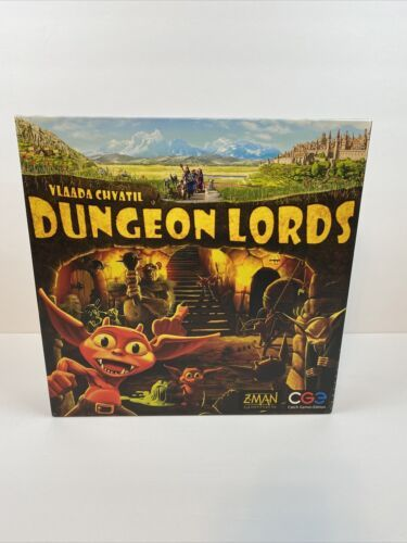 Primary image for Dungeon Lords Board Game Z-Man 2-4 Player 12+ Vlaada Chvatil