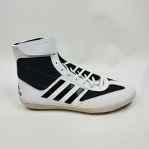 adidas Men Combat Speed 5 Black White Wrestling Shoes AC7501 Size 10.5 - $49.45