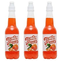 Pack of 3 Victorio Time for Treats Snow Cone Syrups 16.9oz Made in USA Orange Cr